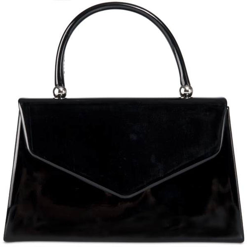 Vintage Purse - Black Patent