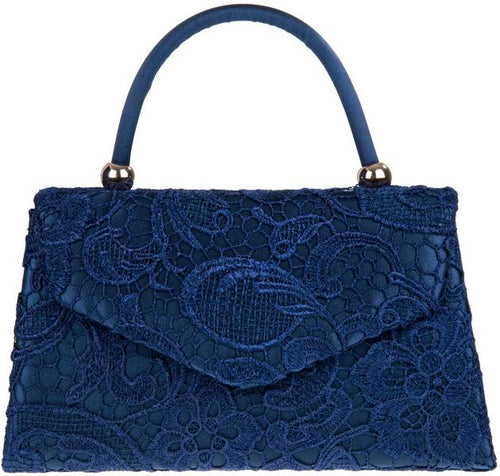 Vintage Purse - Lace Navy