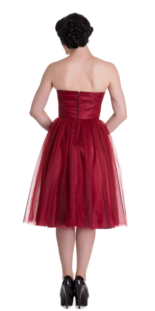 Tamara Tulle Party Dress - Red