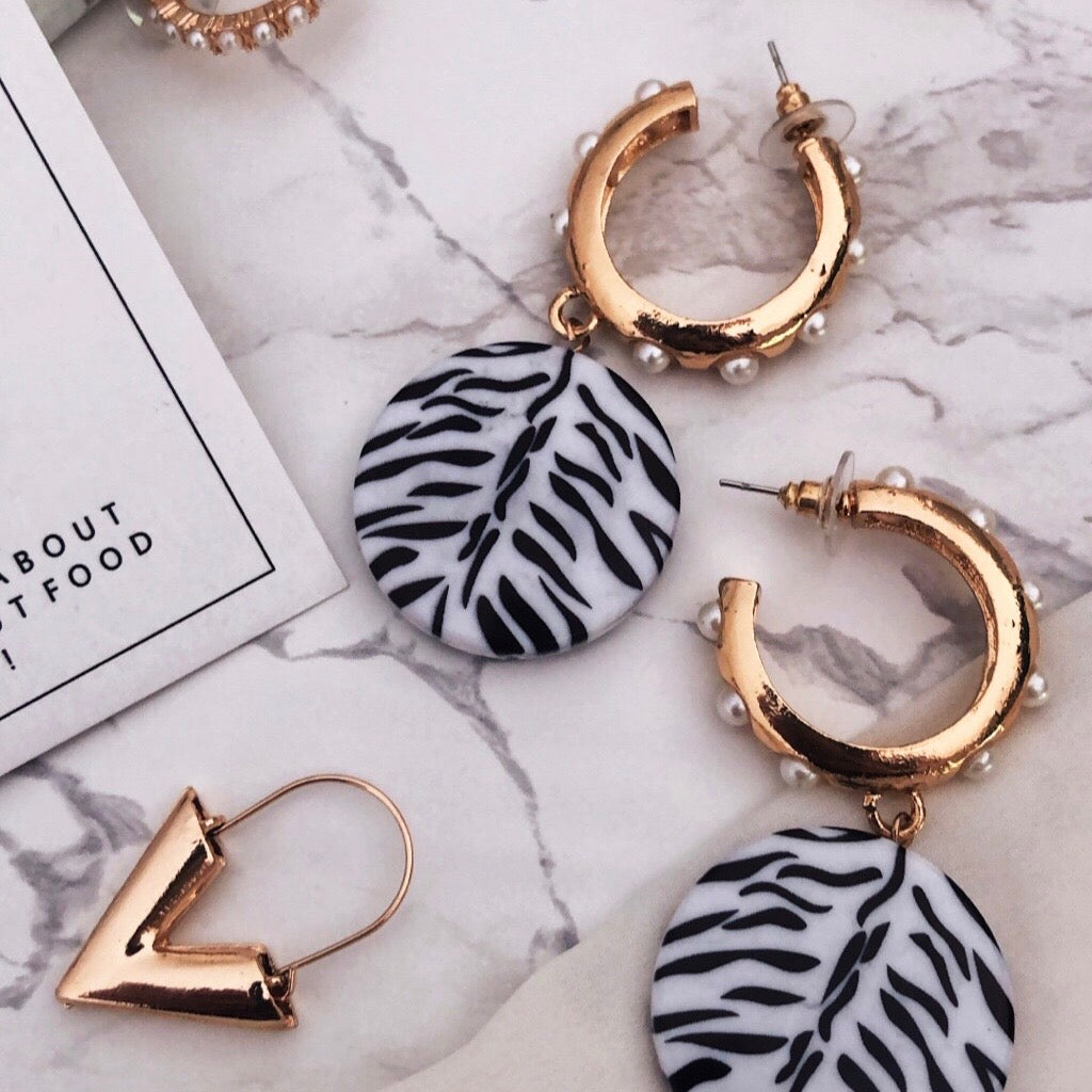 HELLO ZEBRA - Earrings
