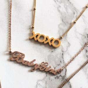 XOXO - Necklace