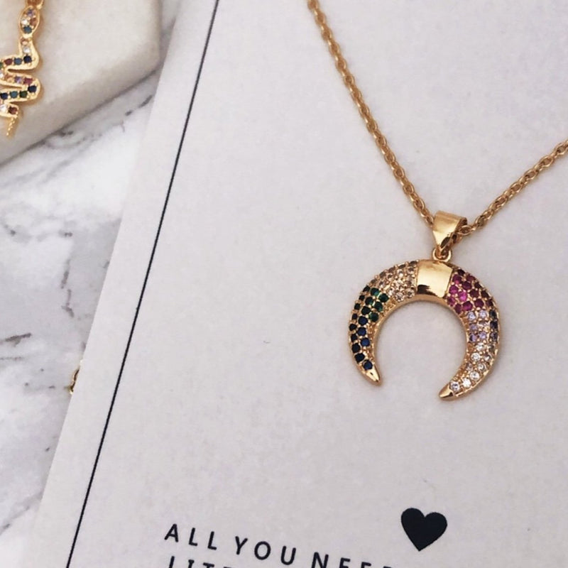 GOLDEN RAINBOW - Necklace
