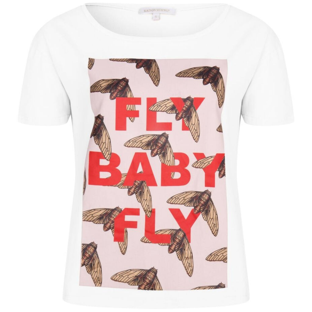 FLY AWAY top - LeatherFeather