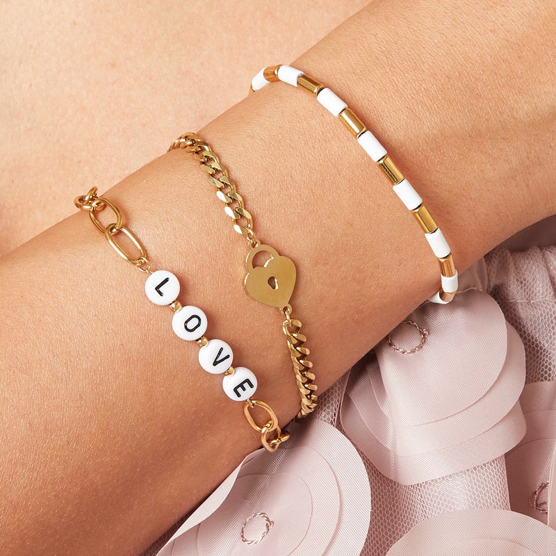 Locked Heart - Bracelet