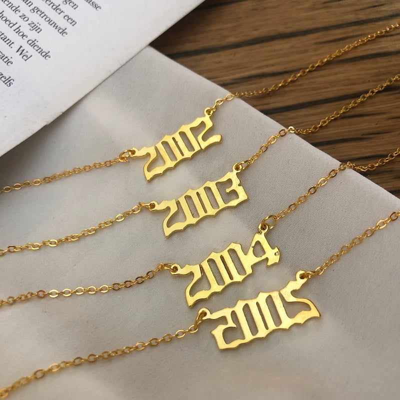 Birth Year - Necklace