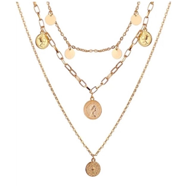 Double Coins - Necklace