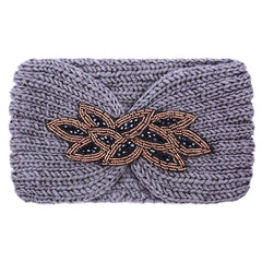 Winter Sparkle Headband - LeatherFeather