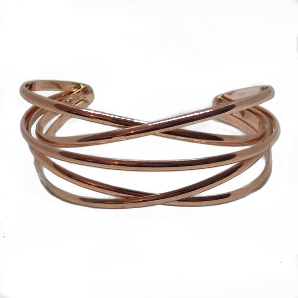 My Bangle Armband rose - LeatherFeather