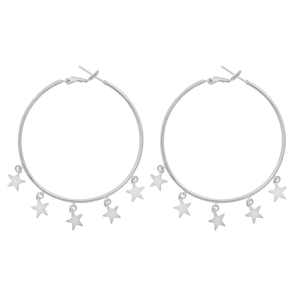 FALLING STARS earrings - LeatherFeather