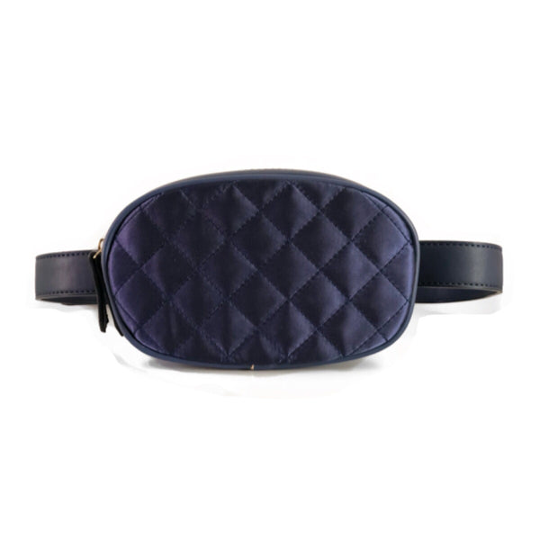 Velvet Belt Bag Marine - LeatherFeather
