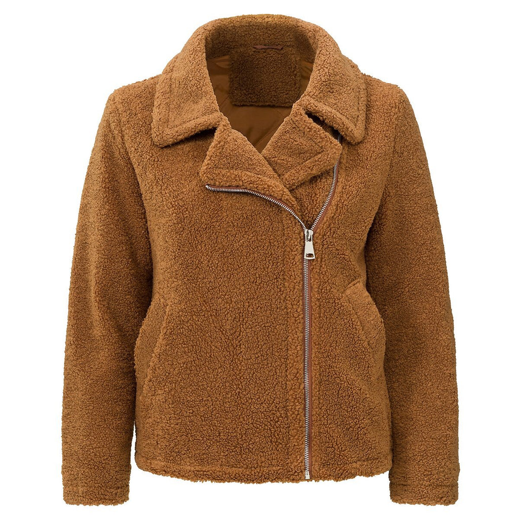 TEDDY coat - LeatherFeather