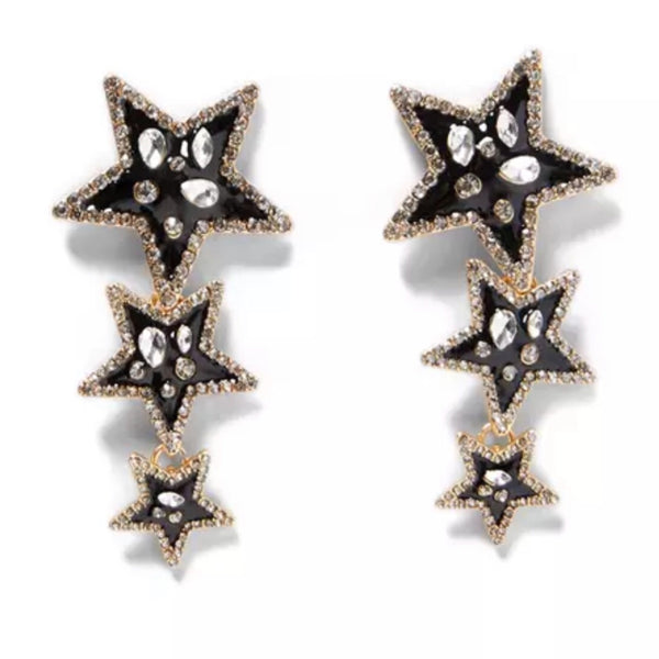 STAR LOVER earrings - LeatherFeather