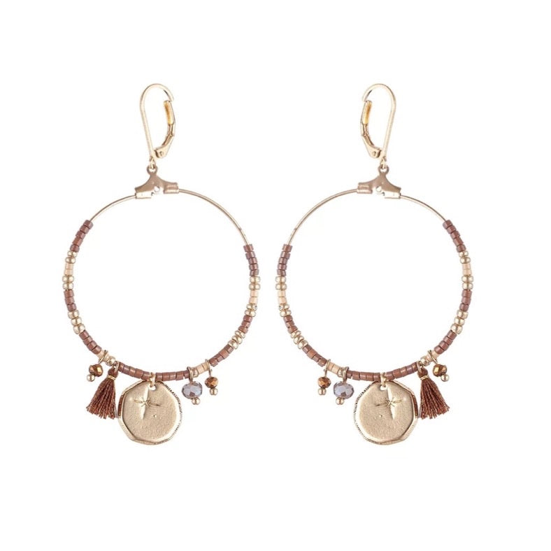 Faya Brown - Earrings