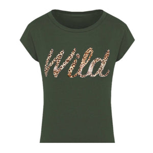 BE WILD top - LeatherFeather