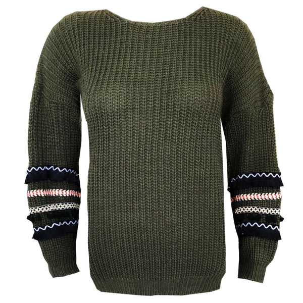 Be A Hippie Sweater - LeatherFeather