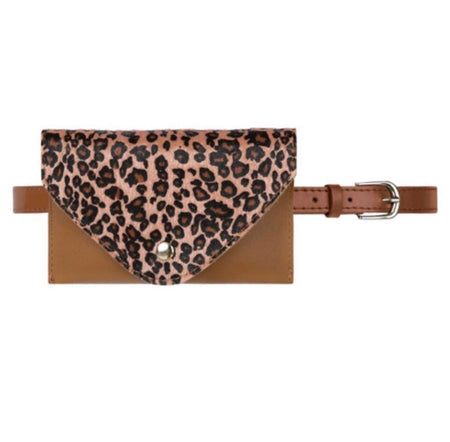 IT'S A WILD LIFE belt bag - LeatherFeather