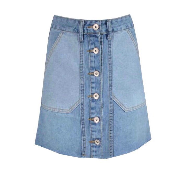 ELLA DENIM rok - LeatherFeather