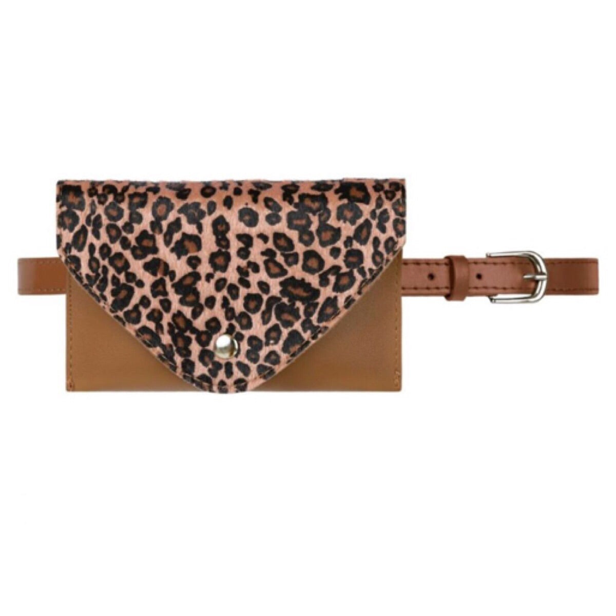 It's a Wild Life Belt Bag Panter - LeatherFeather