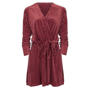 GLITTER LOVES VELVET dress - LeatherFeather