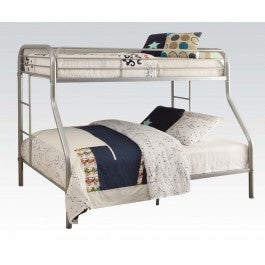 ACMEF02052SI-Silver Twin/queen Bunk Bed
