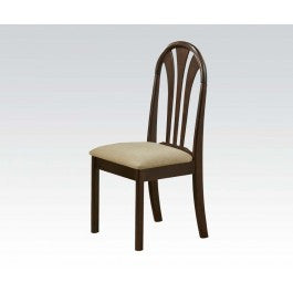 ACMEF02190CE-Espresso Fanback Side Chair