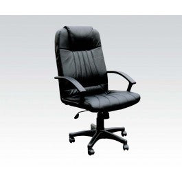 ACMEF02336-Bk Bonded Leather Office Chair