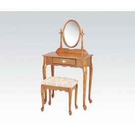 ACMEF02337OAK-Wood Veneer Vanity Set/oak