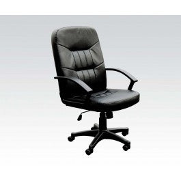 ACMEF02340-Bk Bonded Leather Office Chair