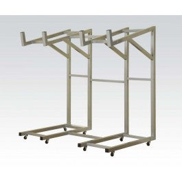 ACMEF02350-Silver Metal Rack for Sofa