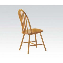 ACMEF02482OAK-Oak Arrowback Windsor Chair