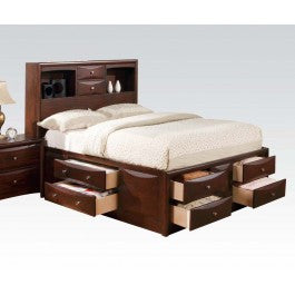 ACMEF04090T-Kit - Espresso Twin Bed