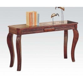 ACMEF06153-Cherry Sofa Table for 6152