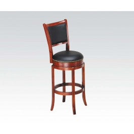 ACMEF07196-Oak Bar Chair W/swivel @n