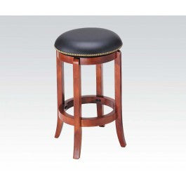 ACMEF07198-Oak Counter H. Stool Swivel @n