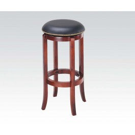 ACMEF07199-Oak Bar Stool W/swivel @n