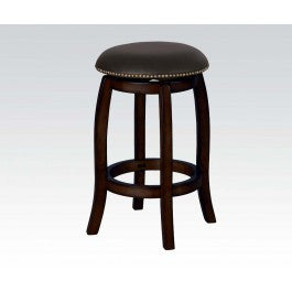 ACMEF07248-Espresso Bar Stool W/swivel