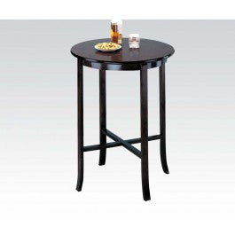 "ACMEF07255-Espresso 30""d Bar Table @note"