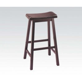 "ACMEF07306-Walnut 29"" Solid Wood Stool"