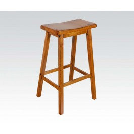 "ACMEF07307-Oak 29"" Solid Wood Stool"