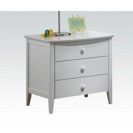 ACMEF09158-Wh 3-drawer Nightstand