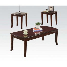 ACMEF09301-3pc Pk Cherry C/e Tables Set