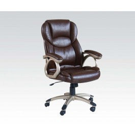 ACMEF09769-Brown Pu Office Chair