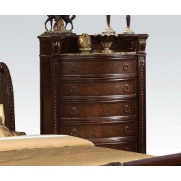 ACMEF10316-Marble Top Chest
