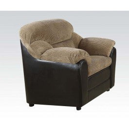ACMEF15947-Brown Corduroy/esp Pu Chair