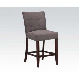 ACMEF16831-Gray Mfb Counter Height Chair