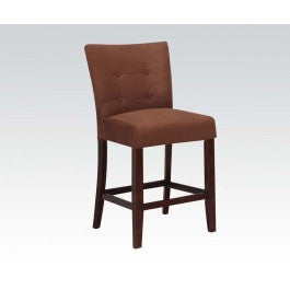 ACMEF16833-Chocolate Mfb Counter H. Chair