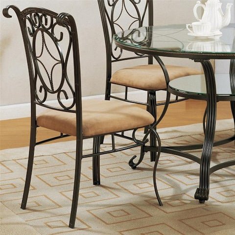 CROWN1843S-Jessica Side Chair
