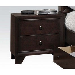 ACMEF19573-Madison Espresso Nightstand