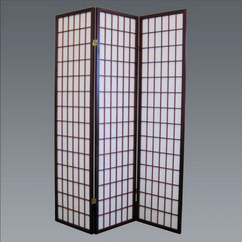 CROWN2003CH-3 Panel Wood Room Divider - Cherry