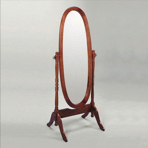 CROWN2067-Cheval Mirror Cherry